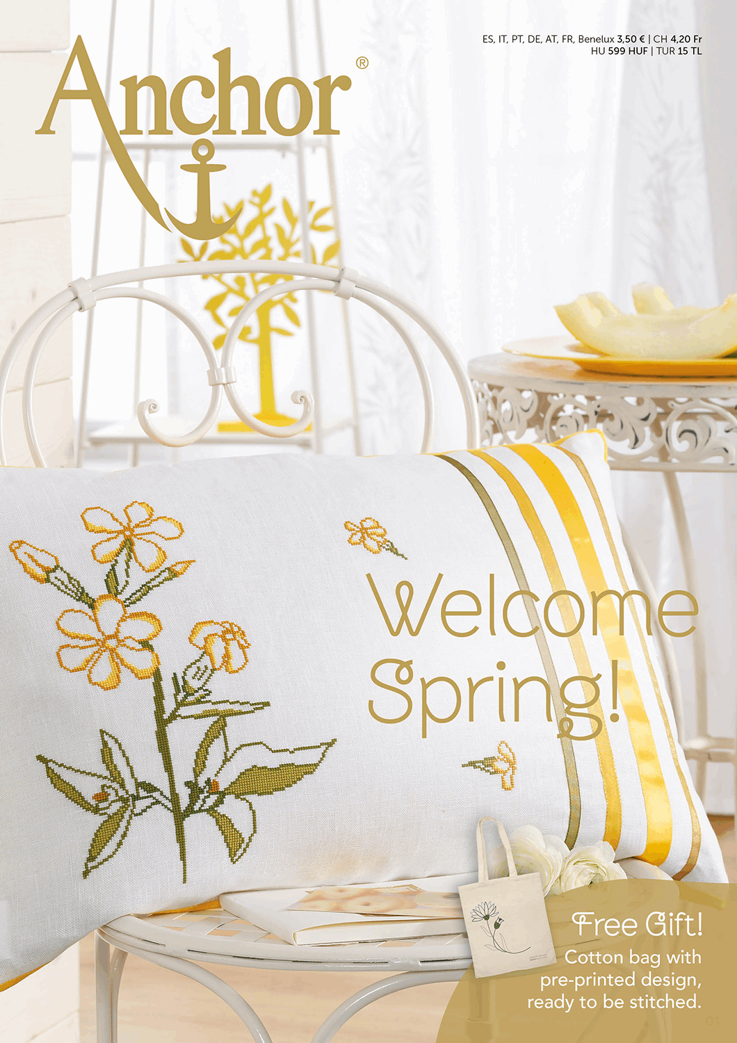 Picture of Welcome Spring Magazine: Embroidery Designs: SS19