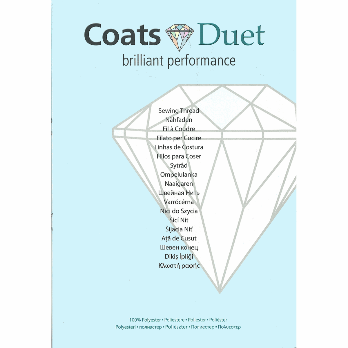 Picture of Coats Duet: Shade Card