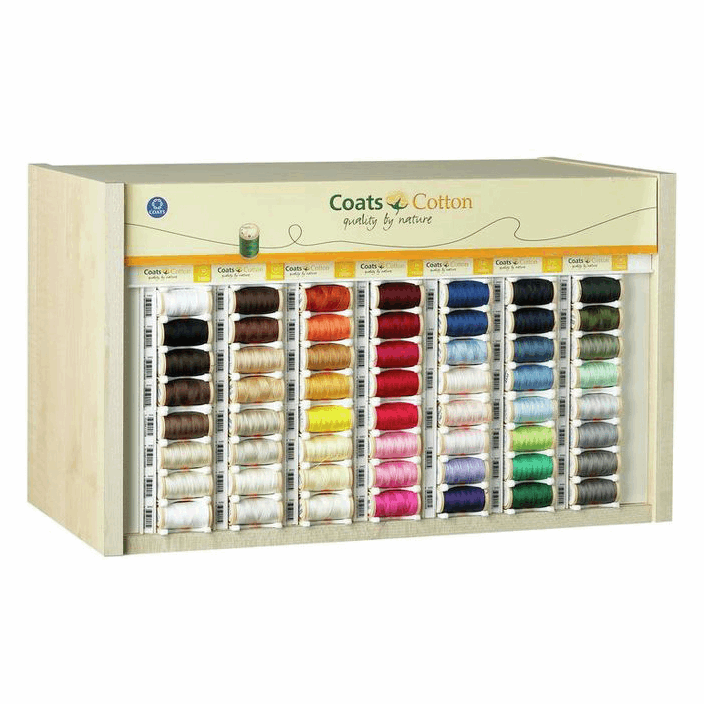 Picture of Coimbra: Cotton Thread Counter or Top Box: 3 Fill: White