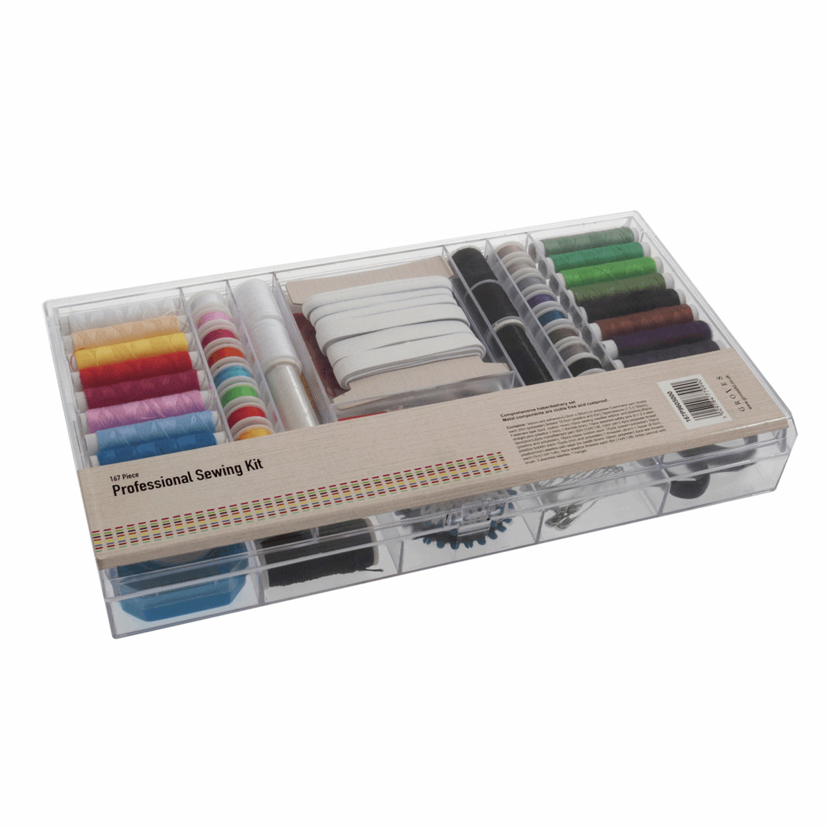 Picture of Professional Sewing Kit: 167 Piece