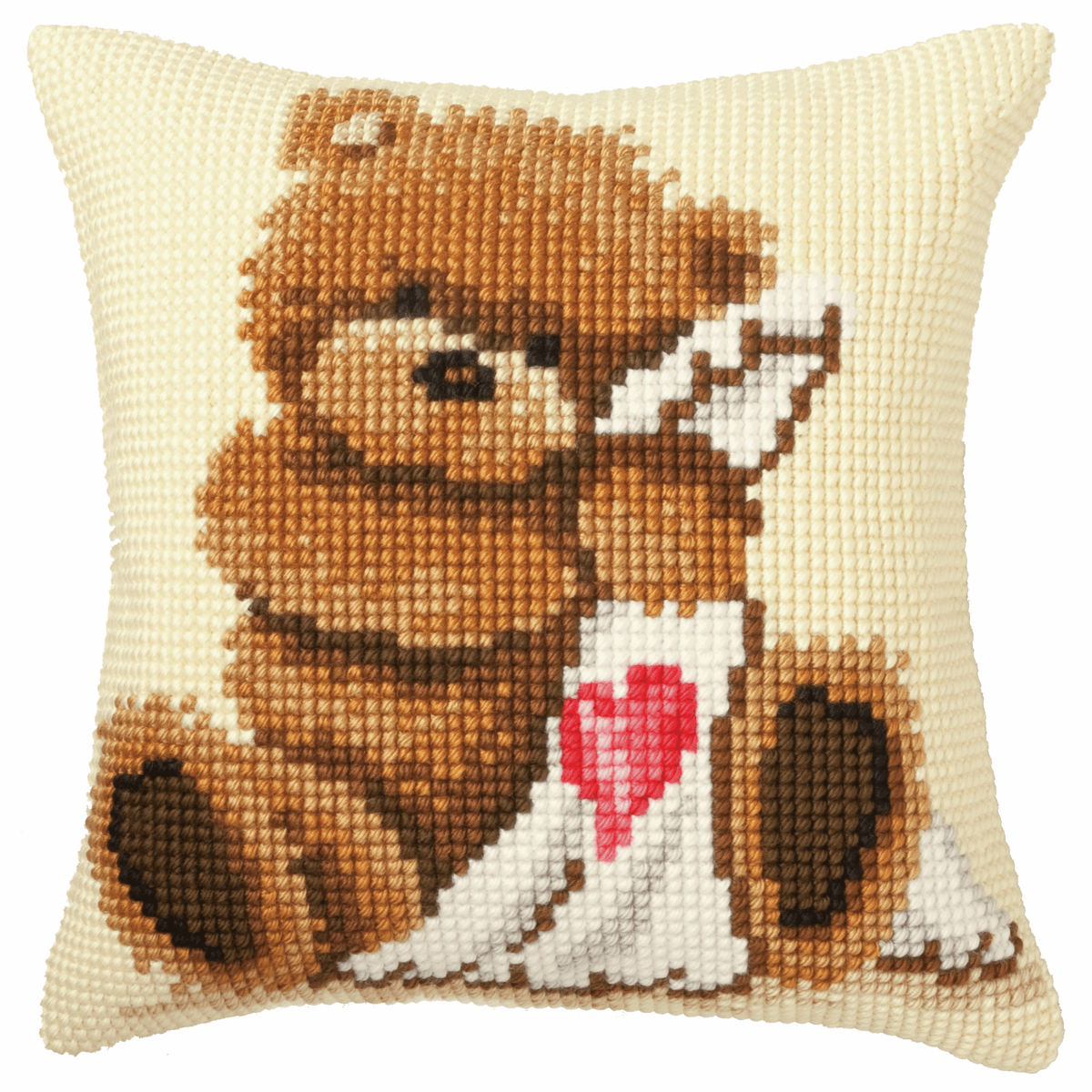Picture of Cross Stitch Kit: Cushion: Popcorn with Blanket