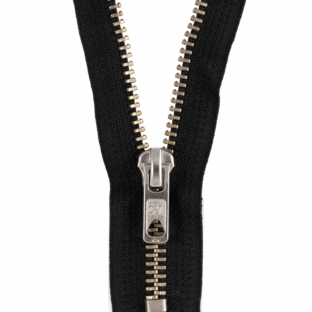 Picture of Zip: Closed End: Silver Metal: 12cm