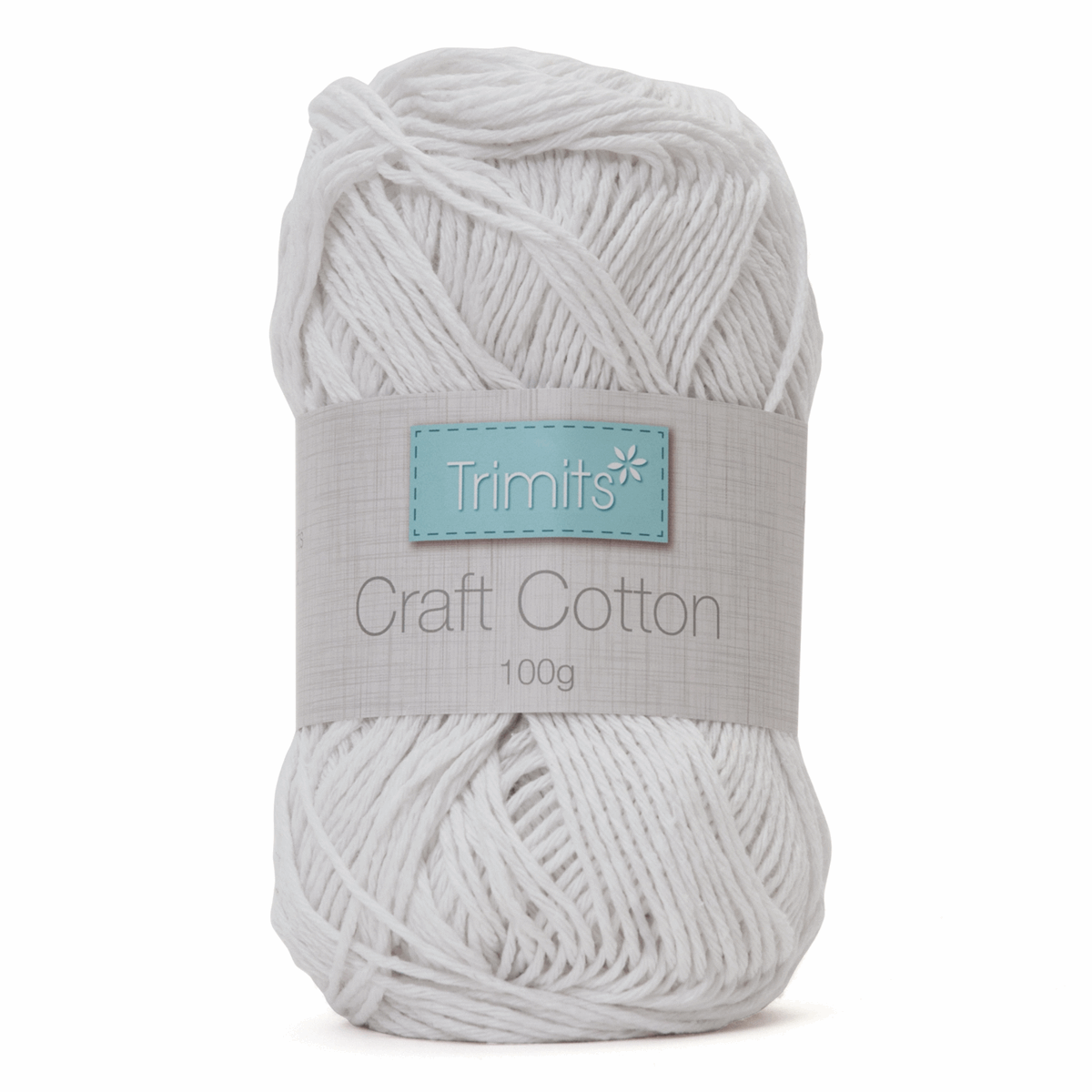 Picture of Craft Cotton: 100g: White