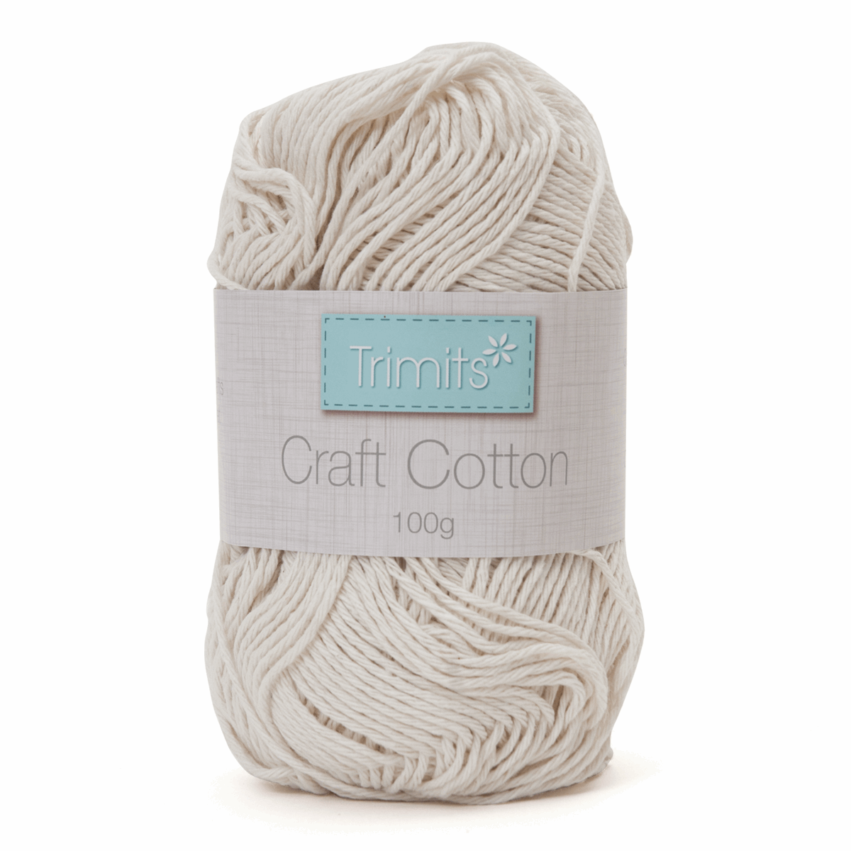 Picture of Craft Cotton: 100g: Unbleached