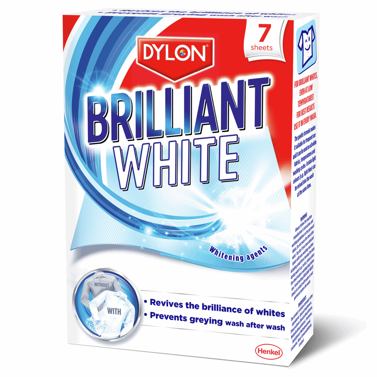 Picture of Brilliant White: 8 Packs x 7 Sheets