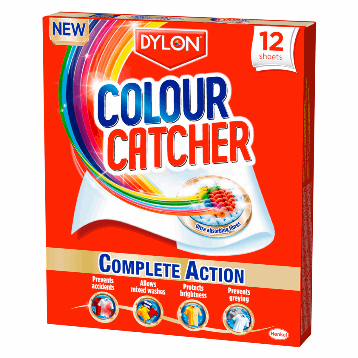 Picture of Colour Catcher: 12 Packs x 12 Sheets
