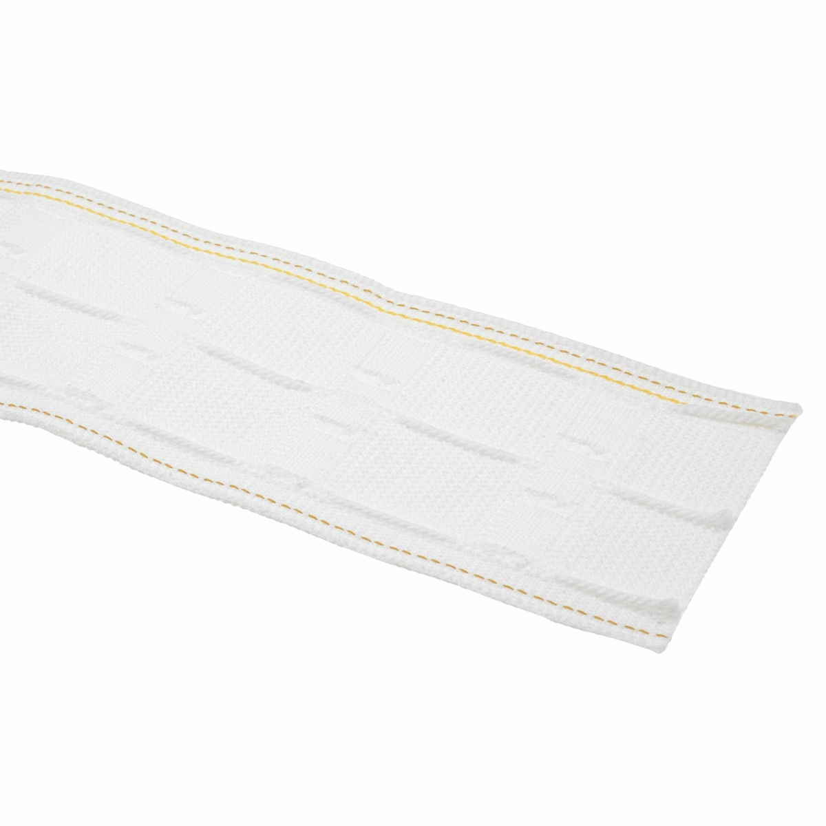 Picture of Curtain Tape: Woven Pocket Tape: Platinum Ultimate: Pencil Pleat: 50m x 76mm (3in): White