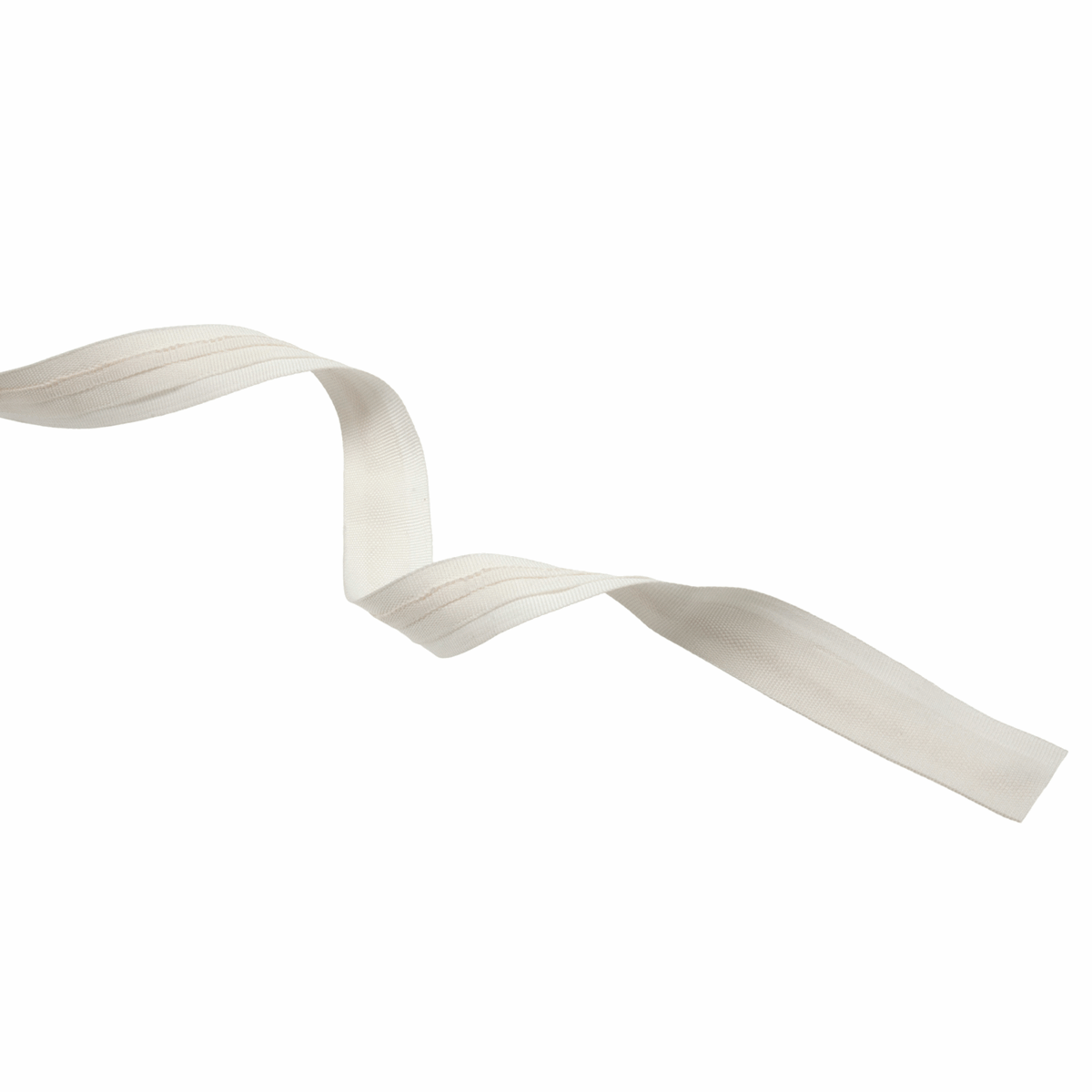 Picture of Curtain Tape: Roman Blind Tape: Premium: 100m x 19mm: Ivory