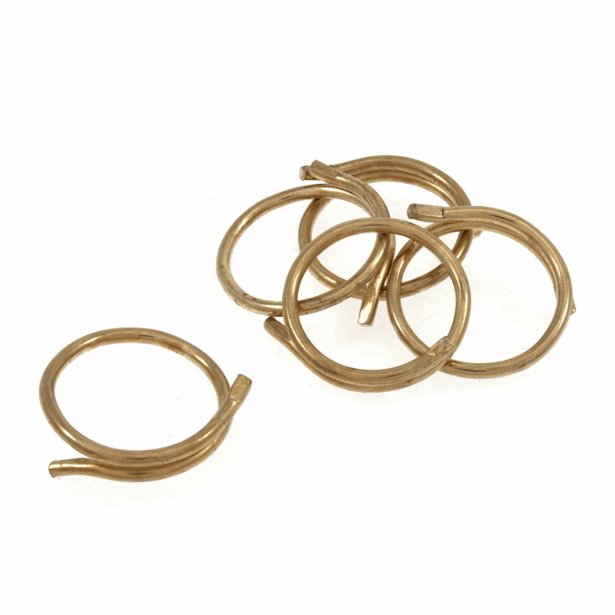 Picture of Split Rings: 19mm: Pack of 20: Gold