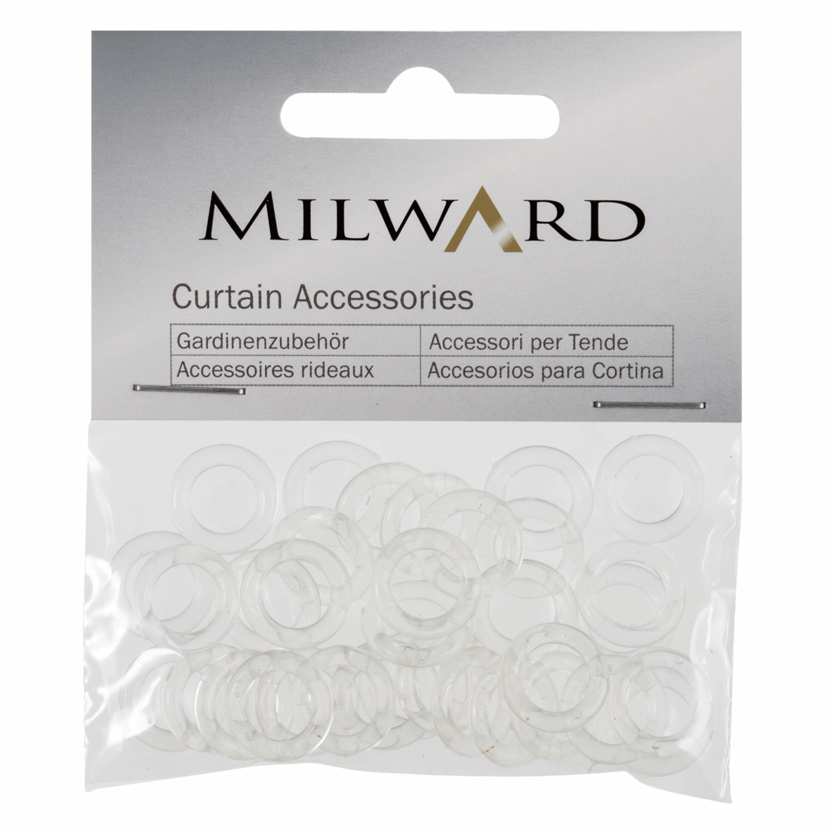 Picture of Austrian Blind Rings: 13mm: Clear: Pack of 30