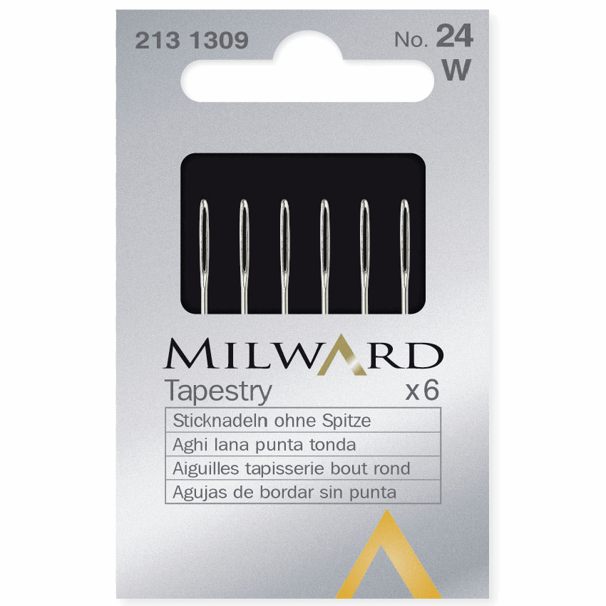 Picture of Hand Sewing Needles: Tapestry: No.24: 6 Pieces