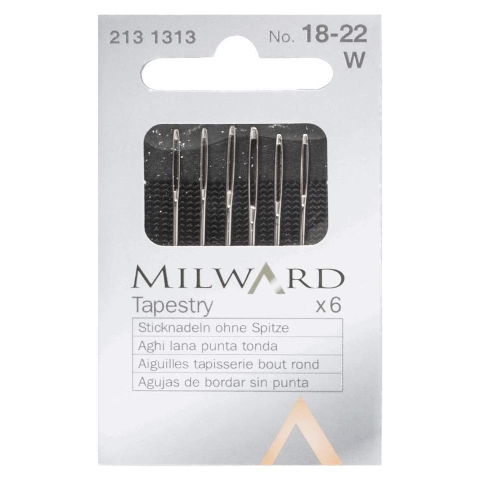 Picture of Hand Sewing Needles: Tapestry: Nos.18-22: 6 Pieces