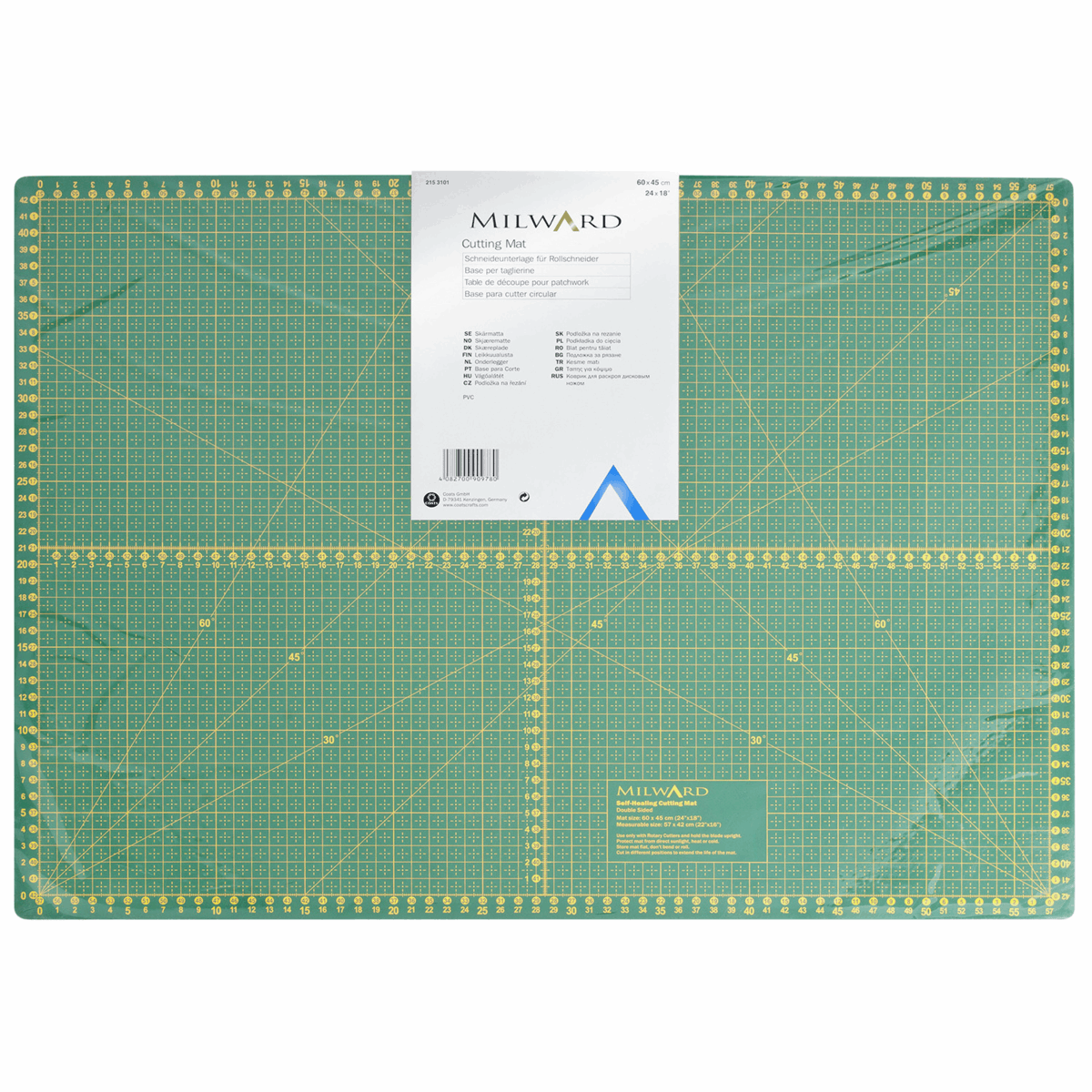 Picture of Cutting Mat: Metric & Imperial: 60 x 45cm: 1 Piece