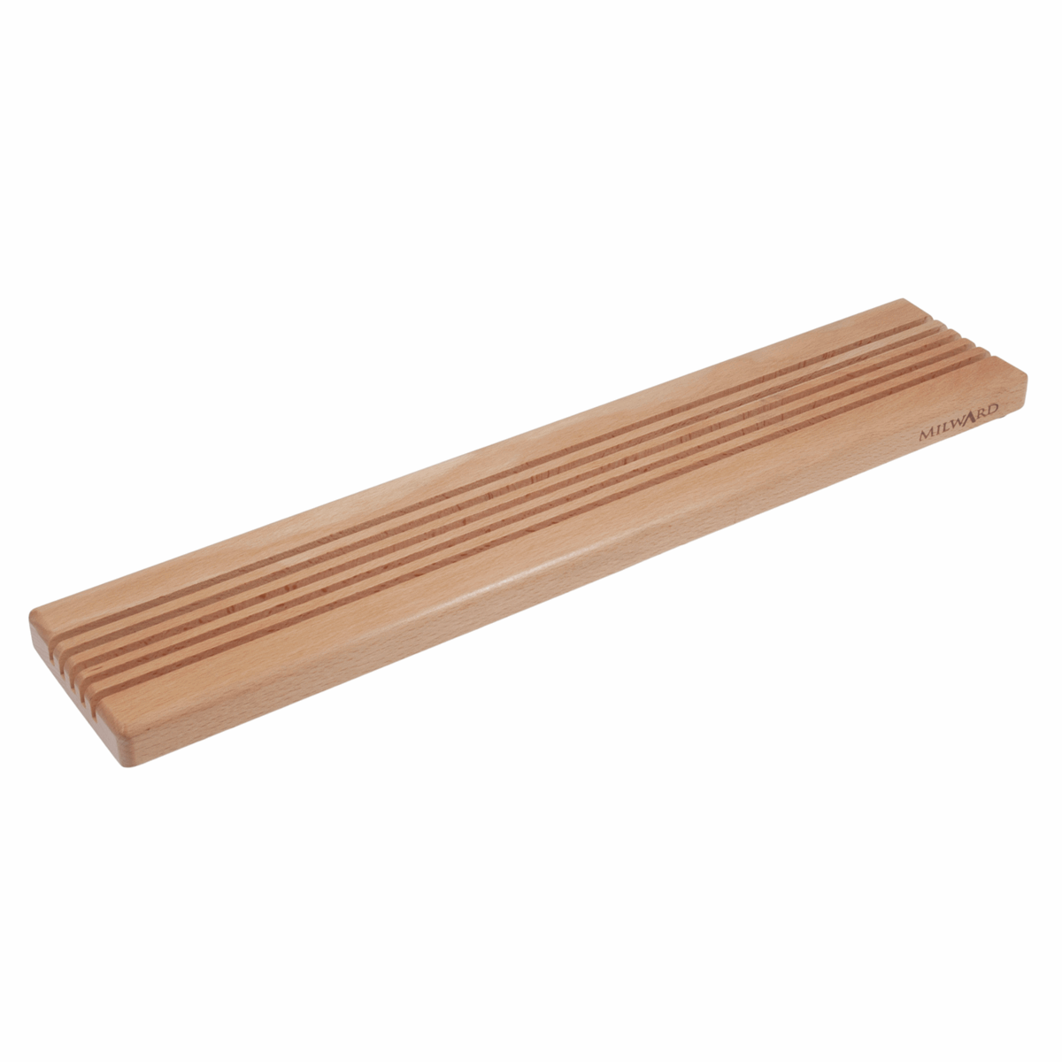Picture of Ruler Rack: Large - 5 Slots: Beech Wood