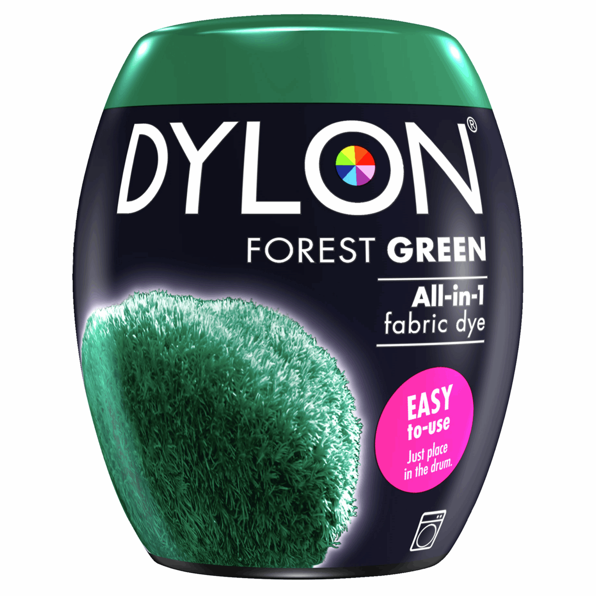 Picture of Machine Dye: Pod: 09 Forest Green