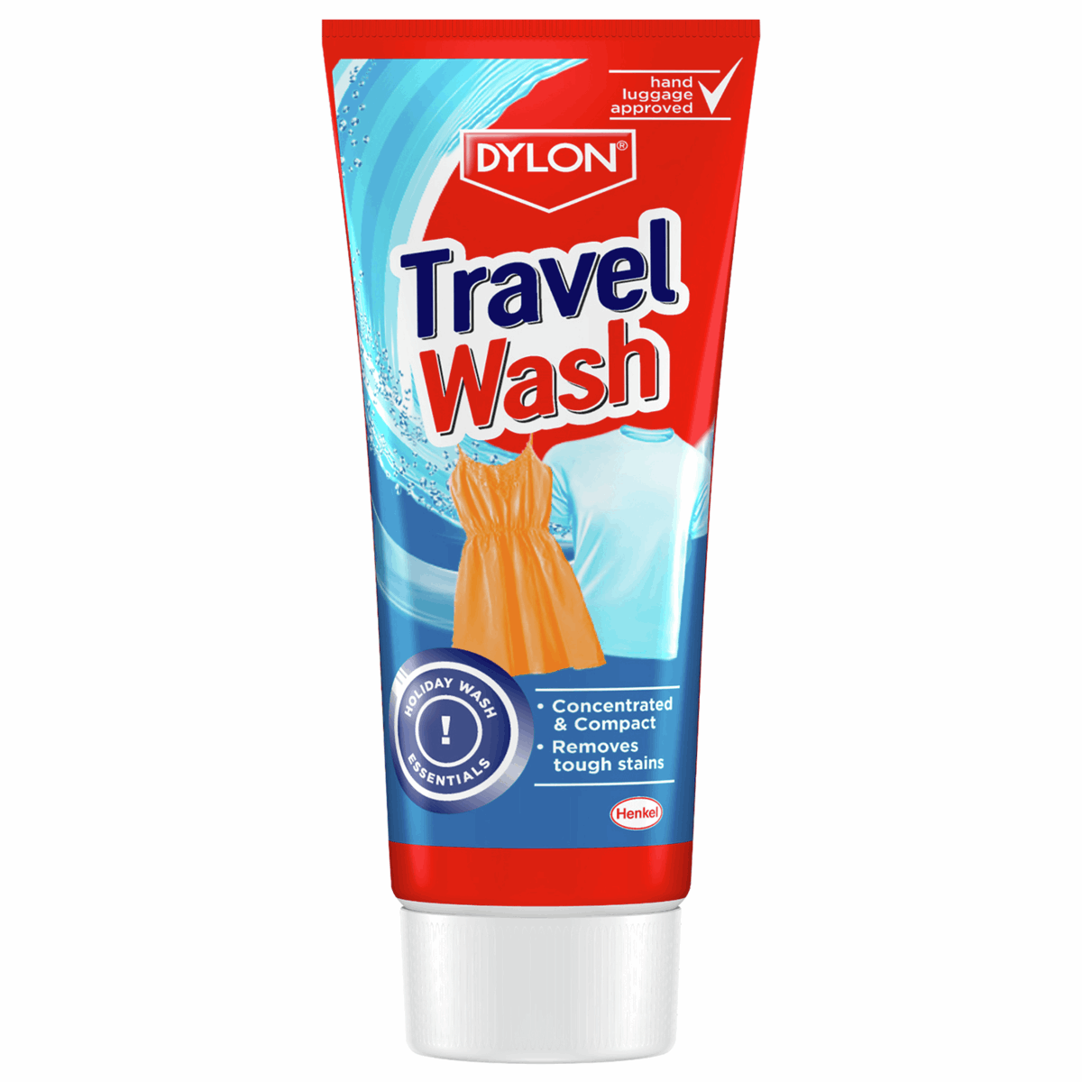 Picture of Dylon Travel Wash: 12 x 75ml