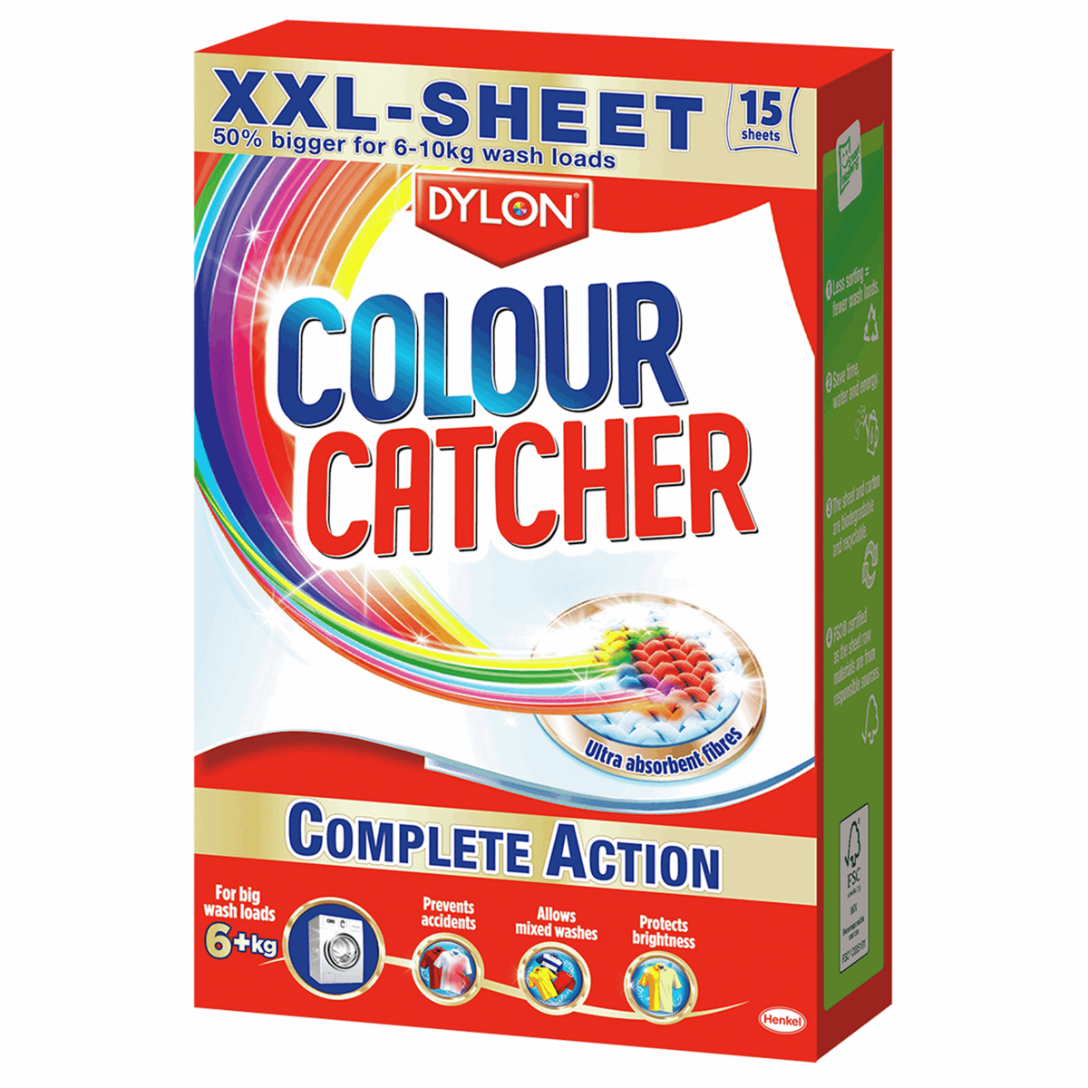 Picture of Colour Catcher: 6 Boxes of 15 XXL Sheets