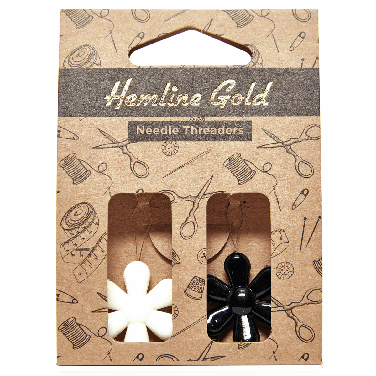 Picture of Needle Threader: Flower: 2 Pieces