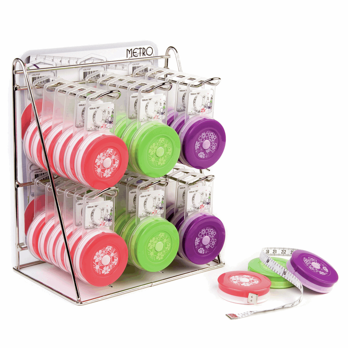 Picture of Counter Display Unit: Tape Measures: Spring/Summer: 36 Pieces