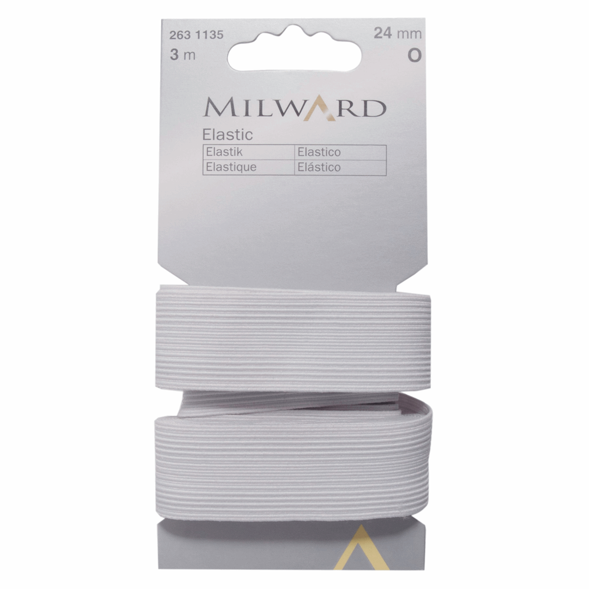 Picture of Elastic: 3m x 24mm: White