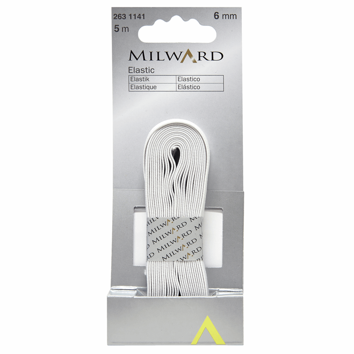 Picture of Elastic: 5m x 6mm: White