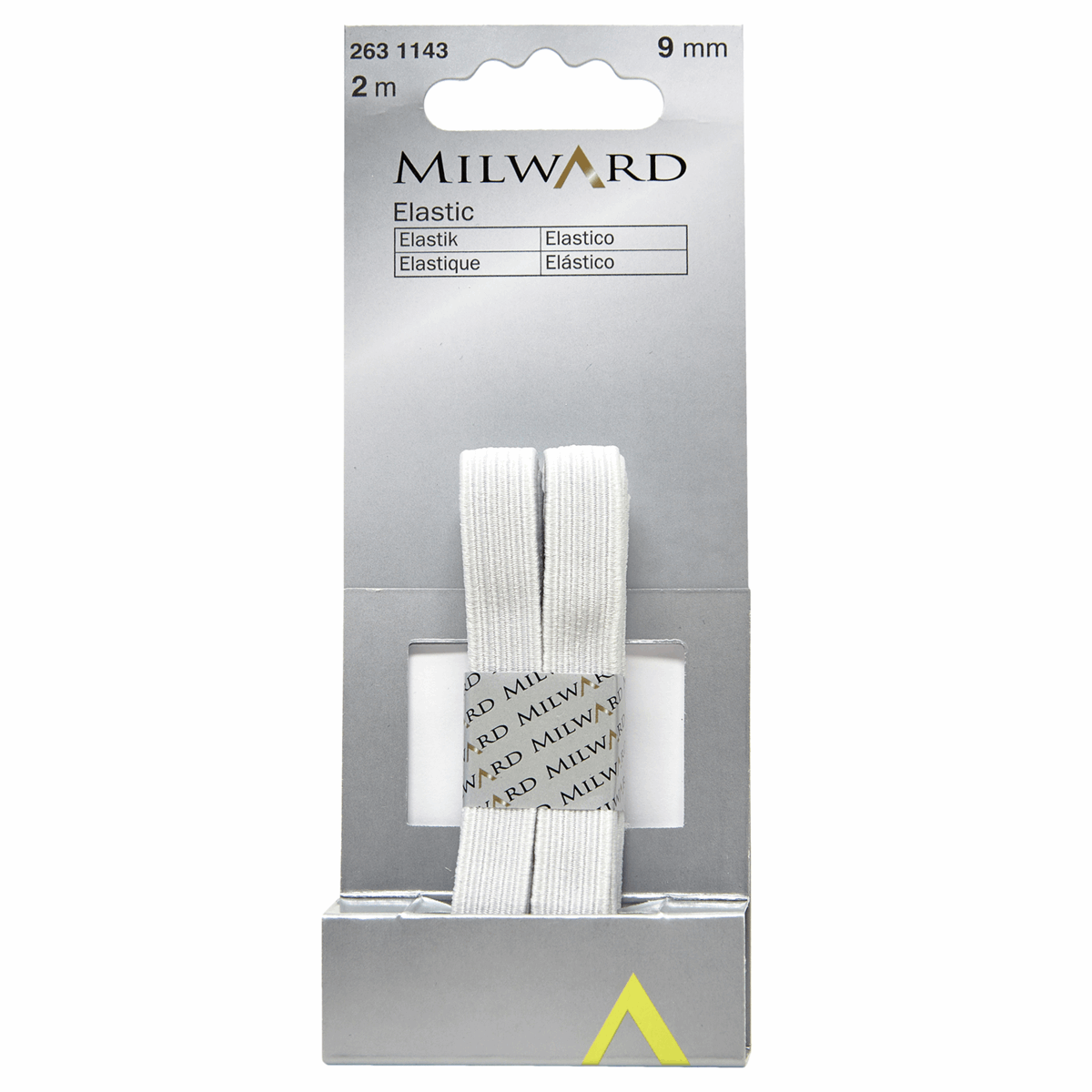 Picture of Elastic: 2m x 9mm: White