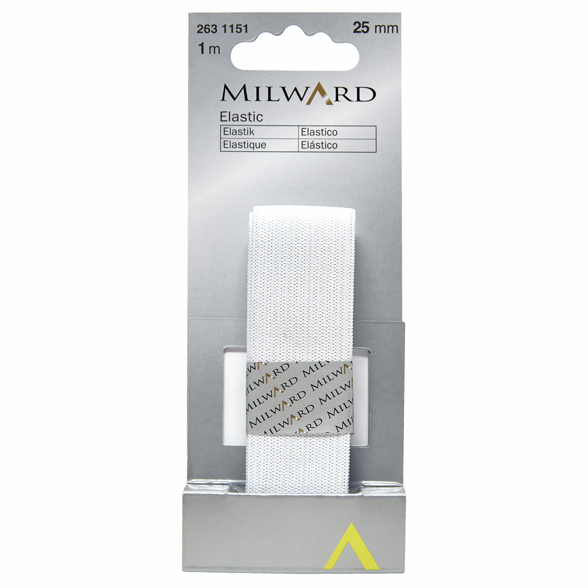 Picture of Elastic: 1m x 25mm: White