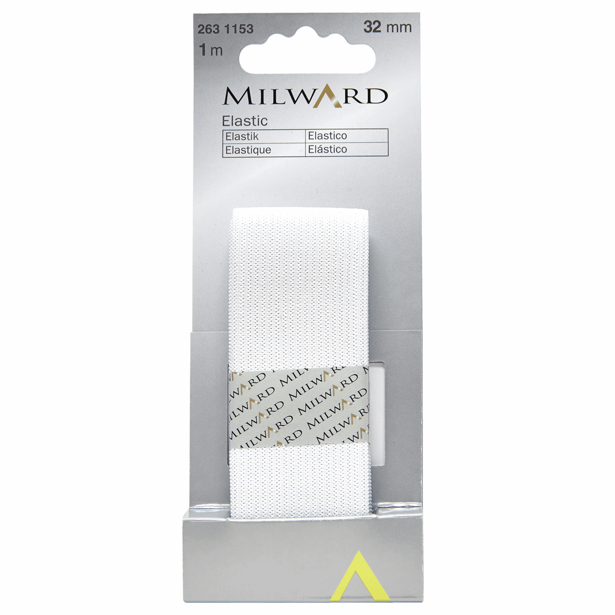 Picture of Elastic: 1m x 32mm: White