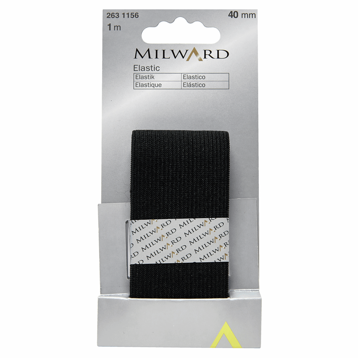 Picture of Elastic: 1m x 40mm: Black