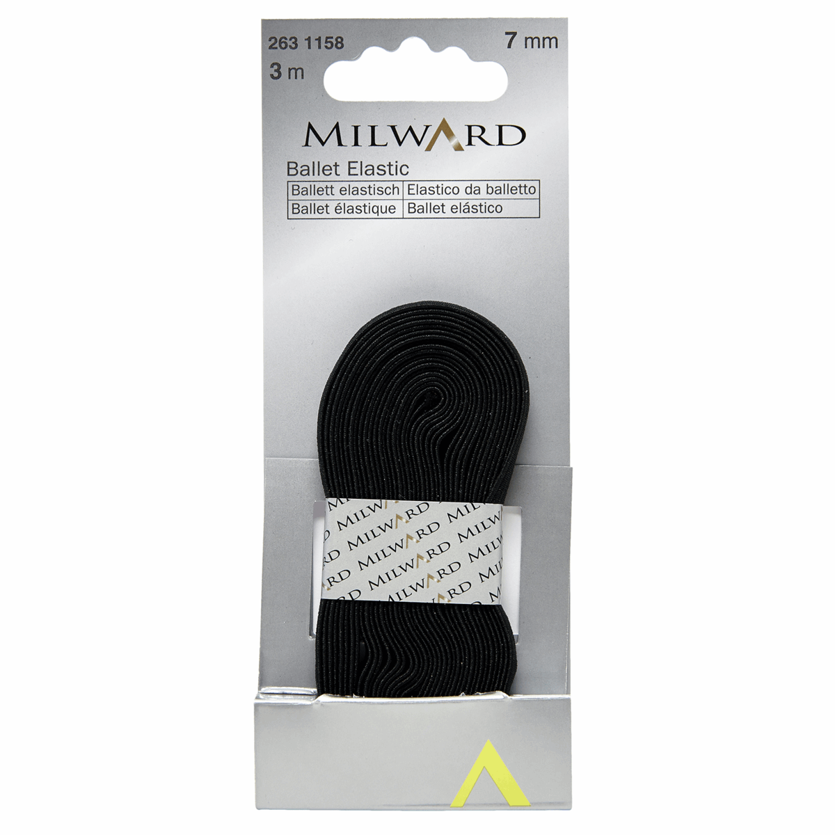 Picture of Ballet Elastic: 3m x 7mm: Black