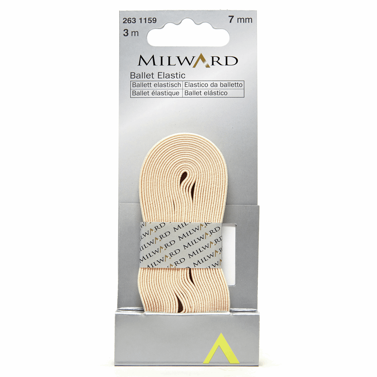 Picture of Ballet Elastic: 3m x 7mm: Natural