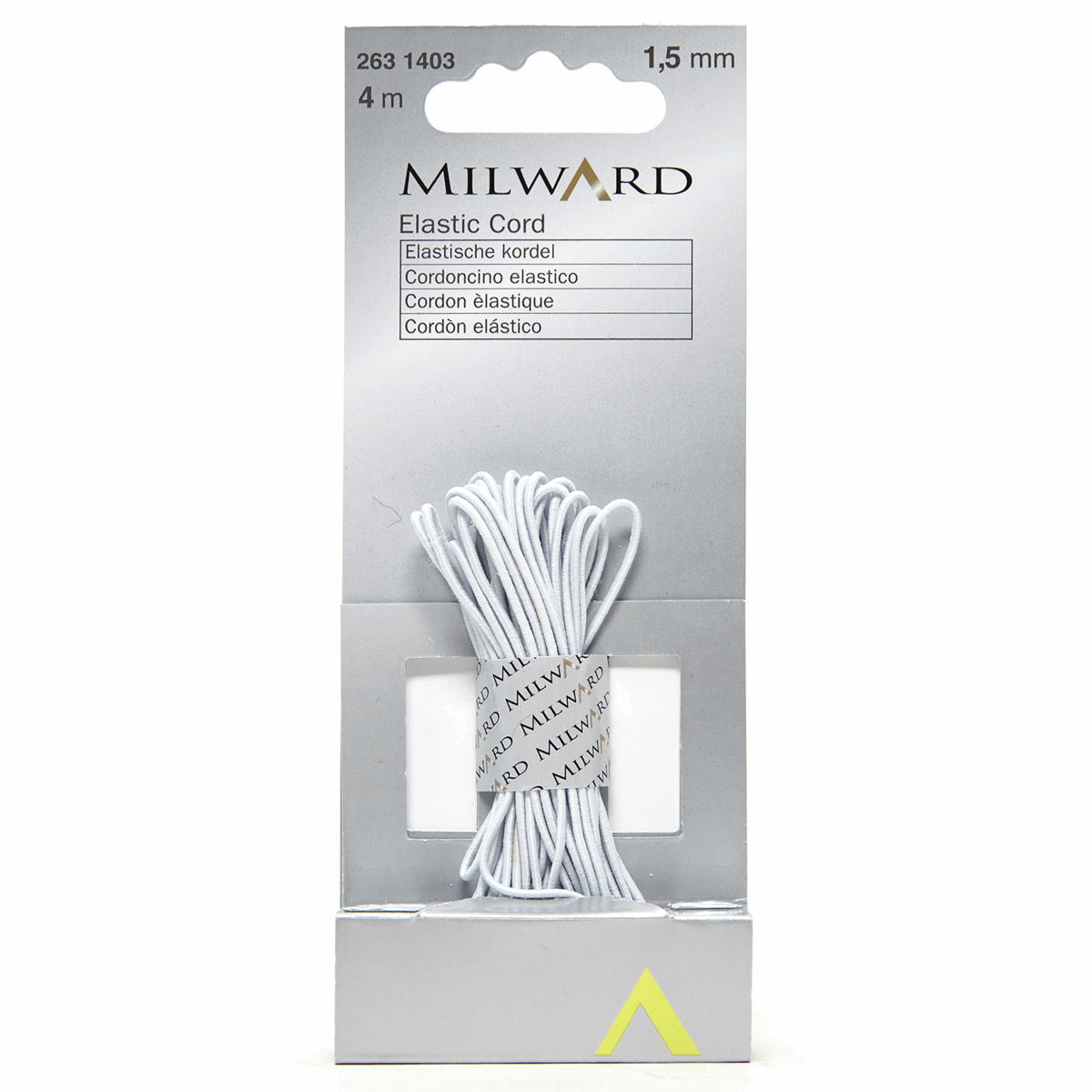 Picture of Elastic Cord: 4m x 1.5mm: White
