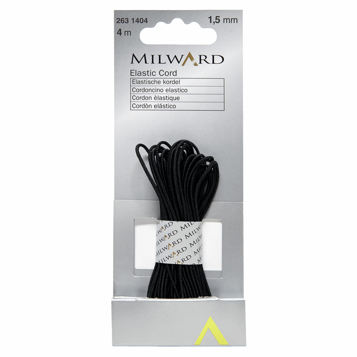 Picture of Elastic Cord: 4m x 1.5mm: Black