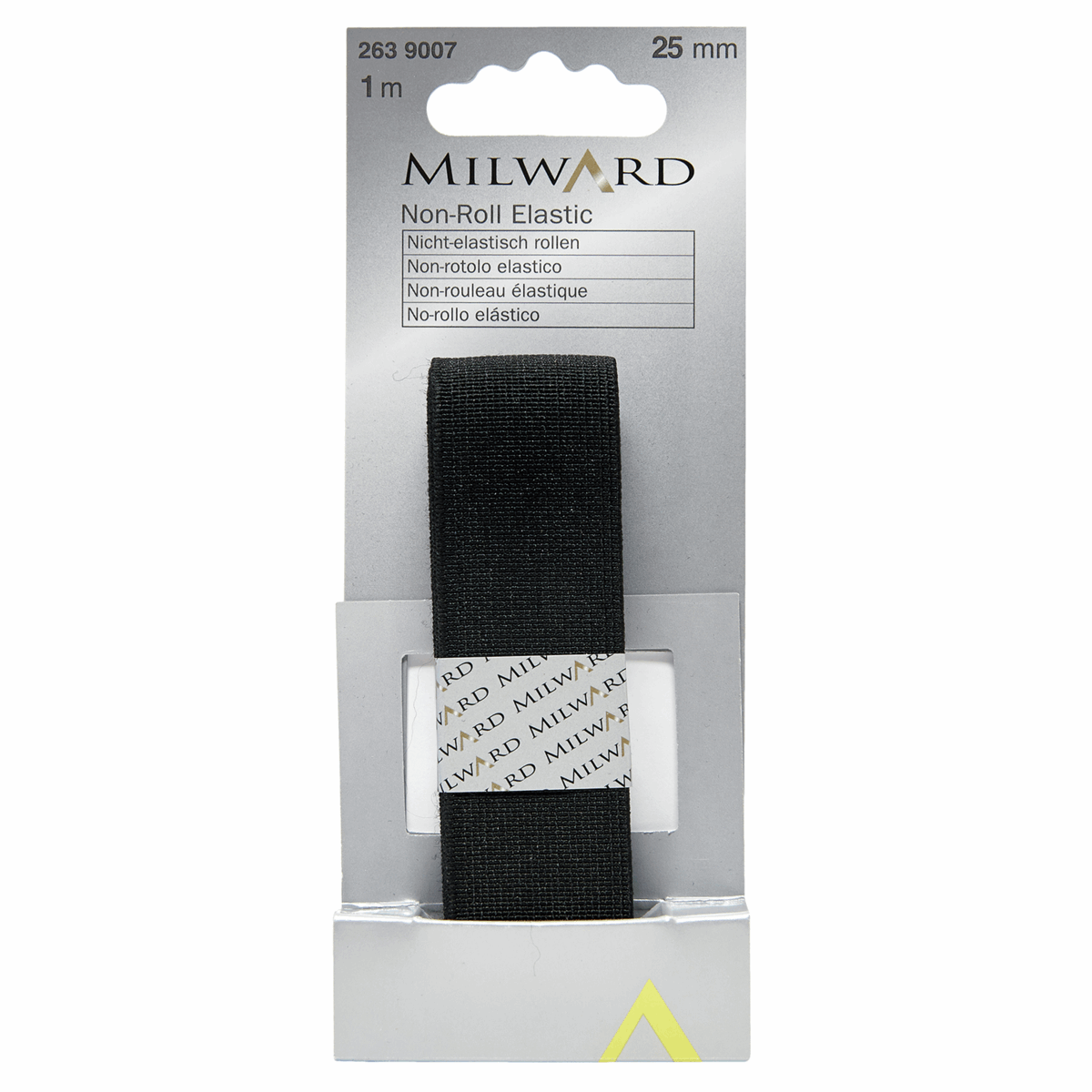 Picture of Non-Roll Elastic: 1m x 25mm: Black