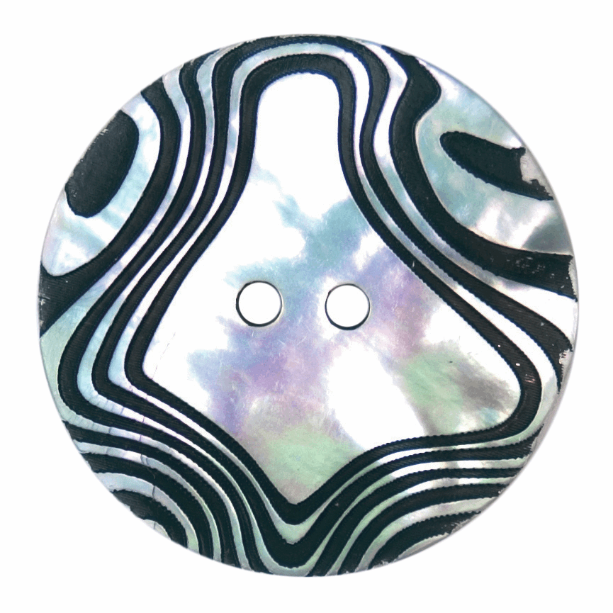 Picture of ABC Loose Buttons: Size 28mm: Pack of 10: Code D