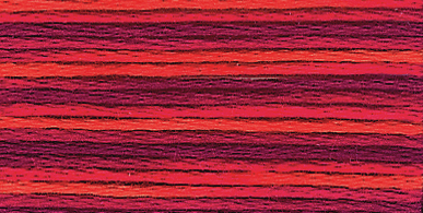 Picture of Stranded Cotton: Multi-coloured: 12 x 8m: Skein
