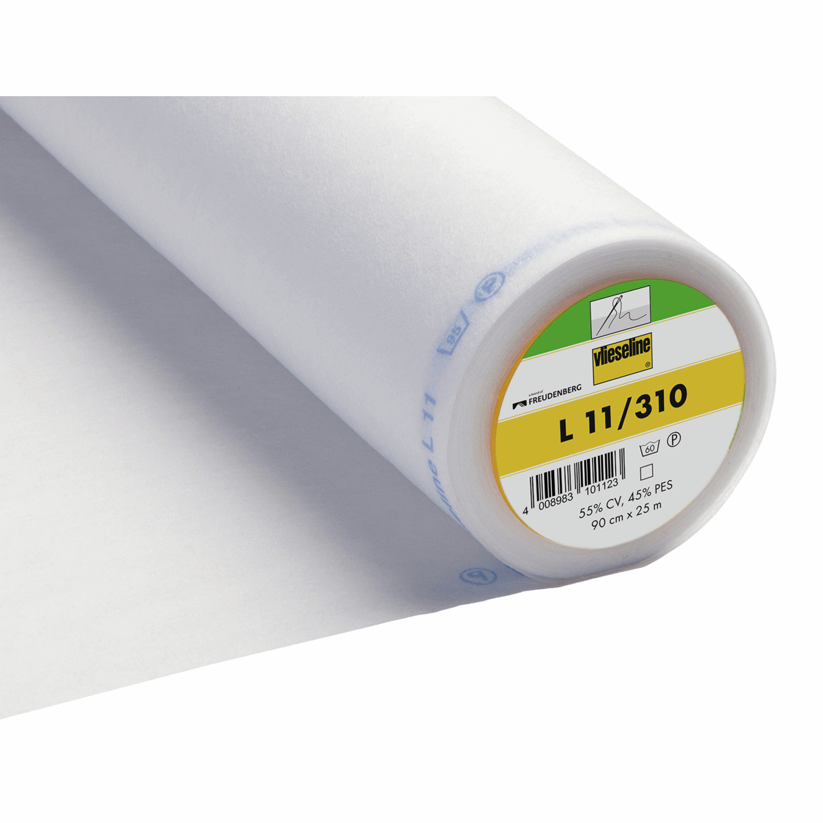 Picture of Sew-In Interlining: Standard: Light: 25m x 90cm: White