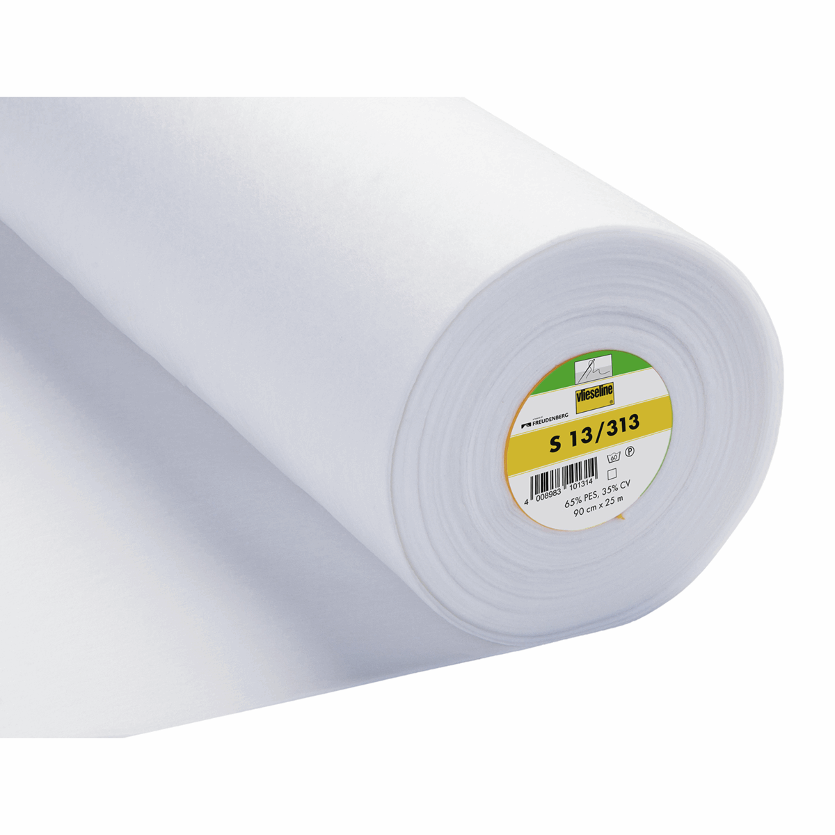 Picture of Sew-In Interlining Standard Heavy: 25m x 90cm: White