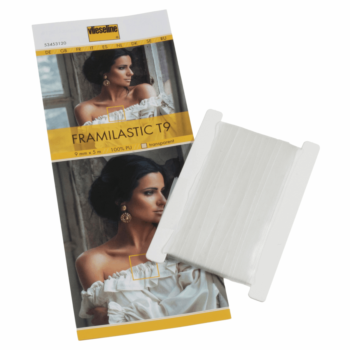 Picture of Framilastic Tape: 5m x 9mm: Transparent