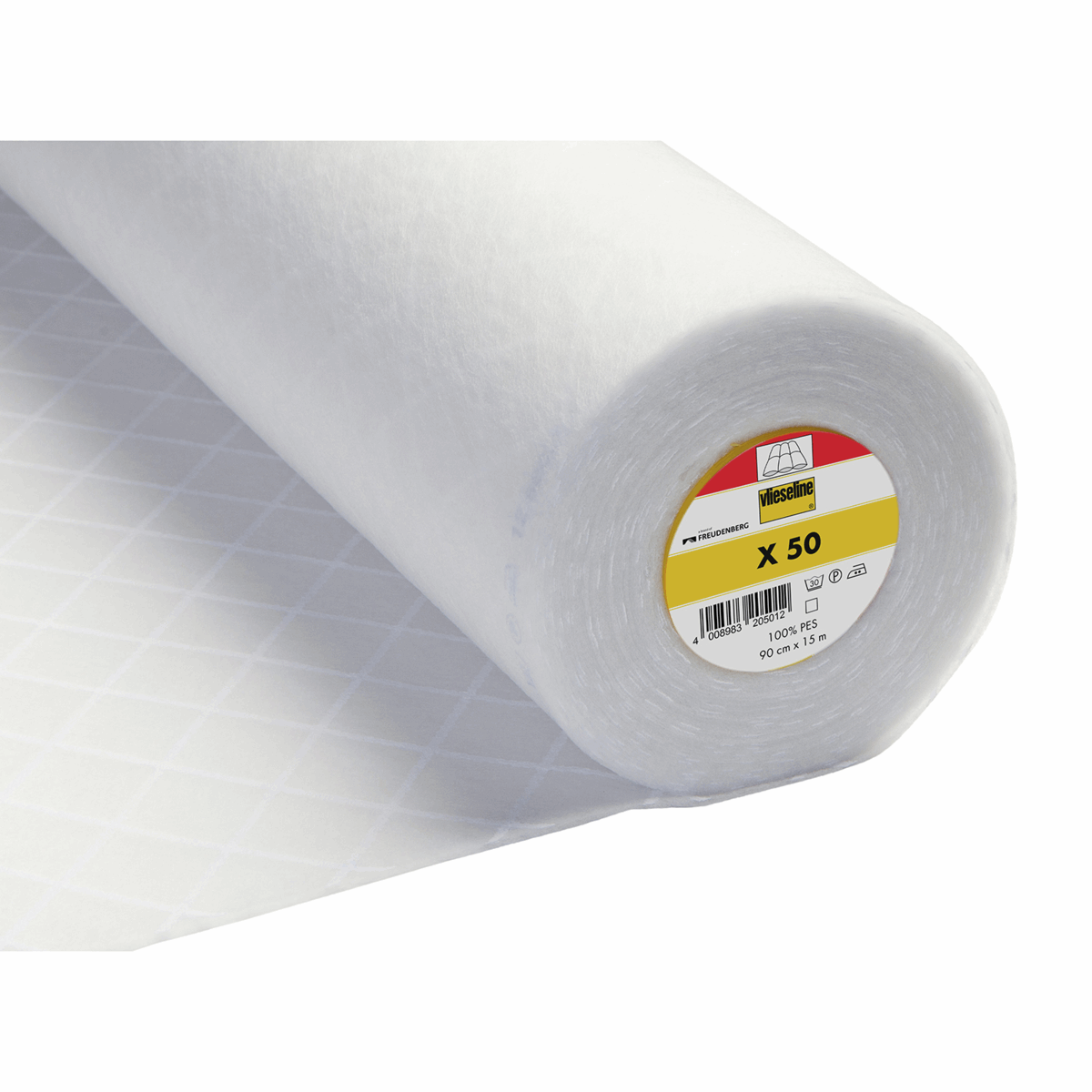 Picture of Quiltex Quilt Wadding Iron-On: 15m x 90cm: White