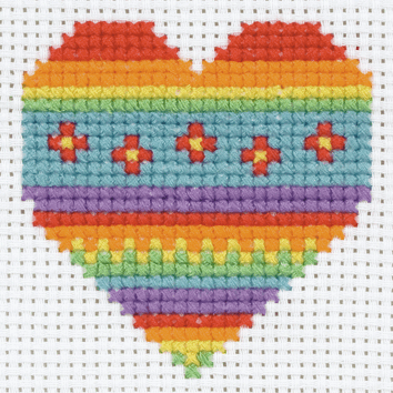 Picture of Cross Stitch Kit: 1st Kit: Heart