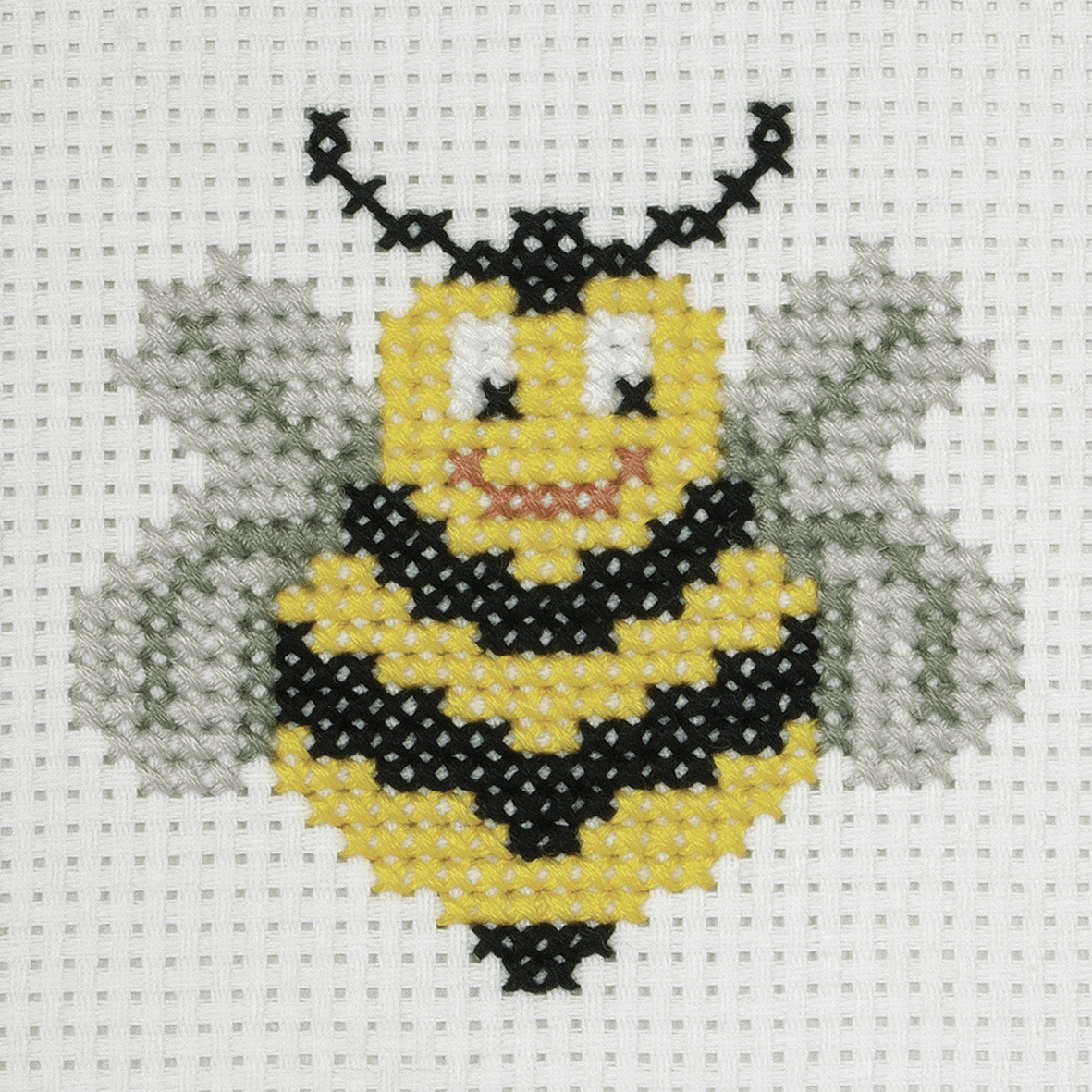 Picture of Cross Stitch Kit: 1st Kit: Bee