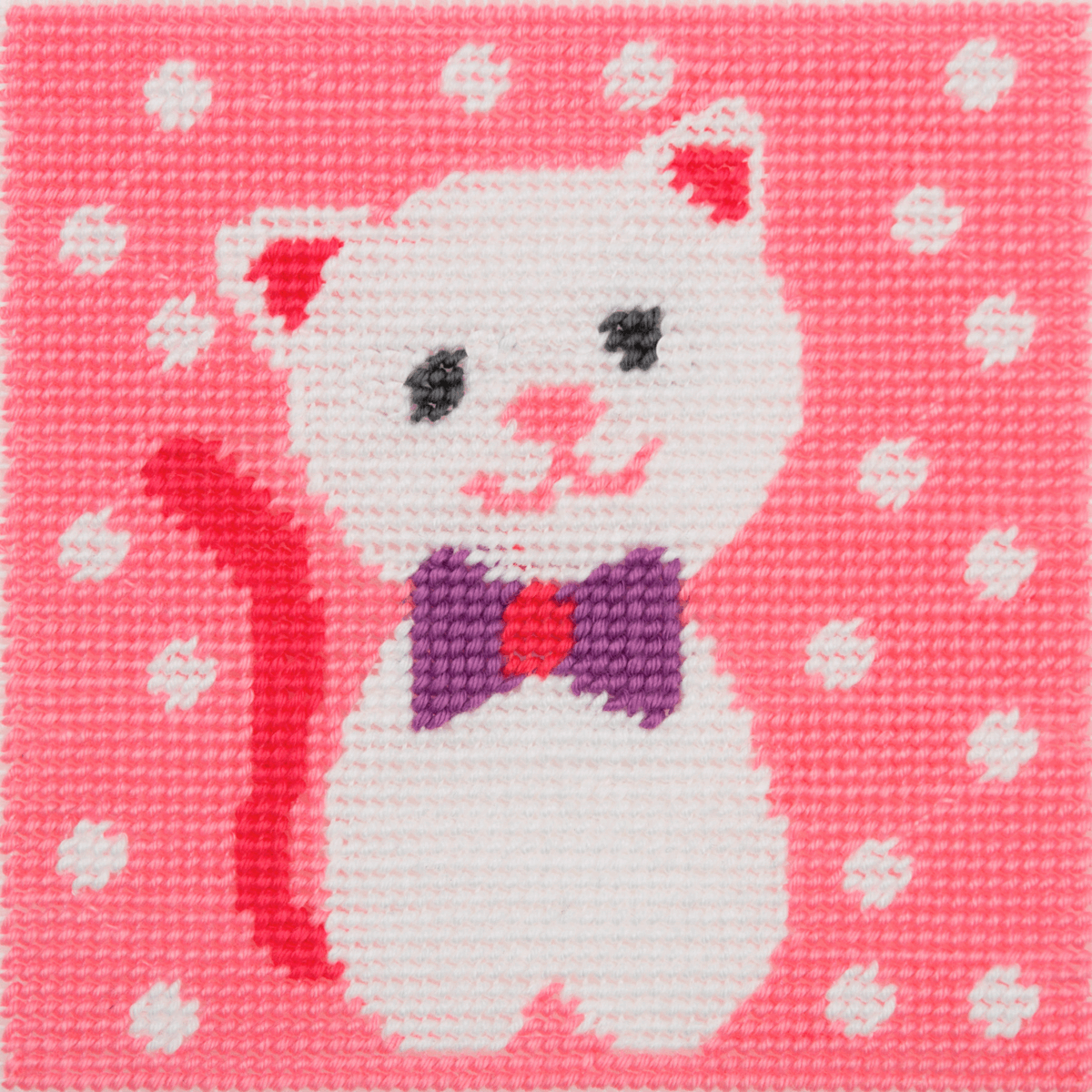 Picture of Tapestry Kit: 1st Kit: Cute Kitty