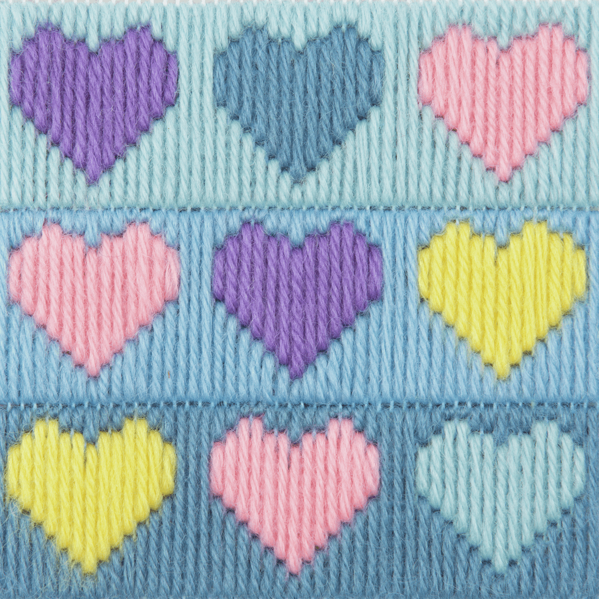 Picture of Long Stitch Kit: 1st Kit: Hearts