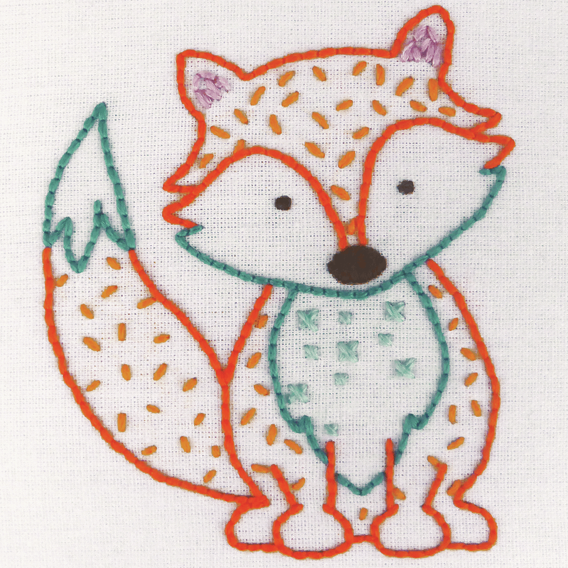 Picture of Embroidery Kit: 1st Kit: Fox