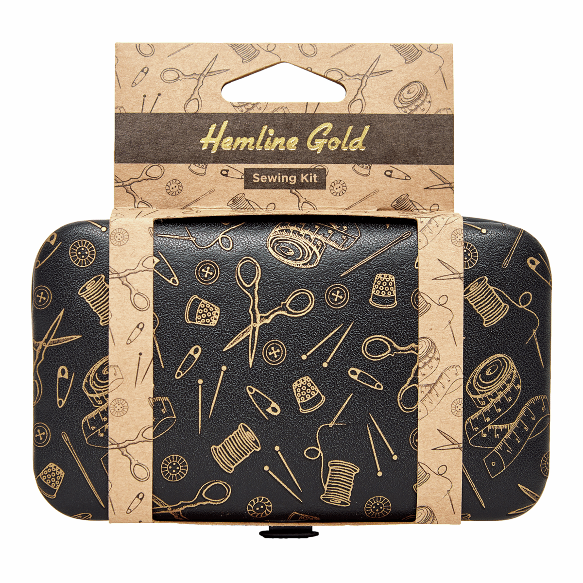 Picture of Sewing Kit: Hemline Gold Notions Print