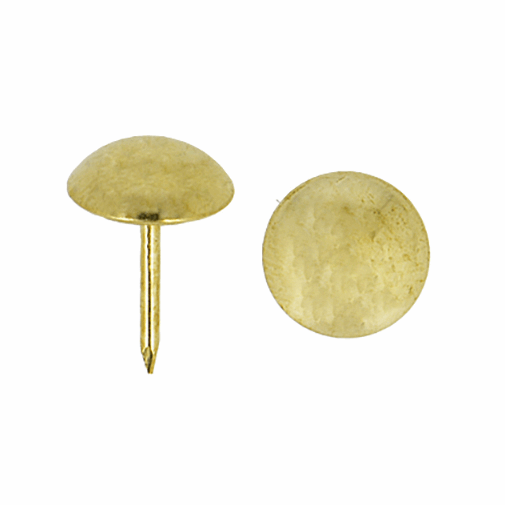 Picture of Upholstery Nails: 17mm x 12mm: 50 Pieces: Gold