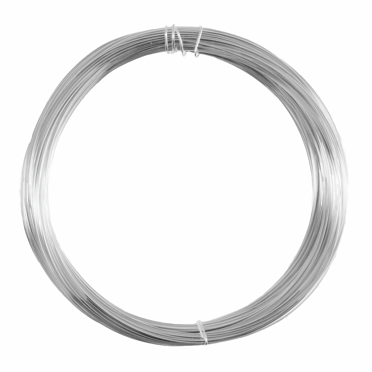 Picture of Wire: 1 Pack of 20m x 0.4mm: Silver Plated