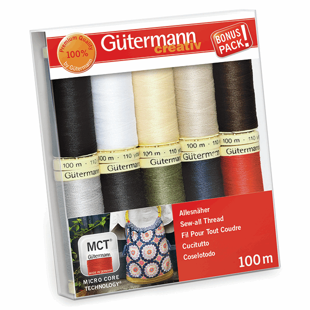 Picture of Thread Set: Sew-All: 10 x 100m: Basics