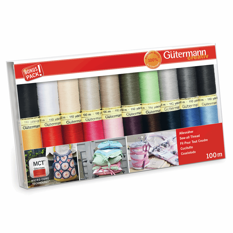 Picture of Thread Set: Sew-All: 20 x 100m: Assorted